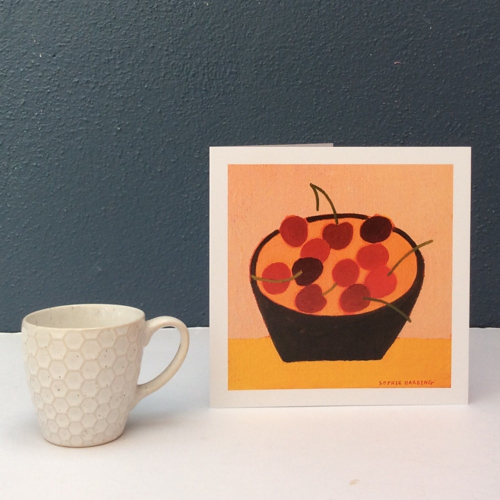 Image of 'A Bowl of Cherries 'card