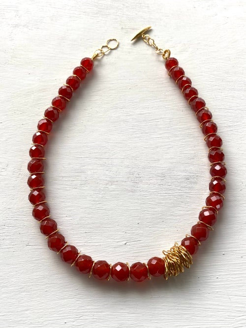 Image of Afiok Beaded Necklace #13