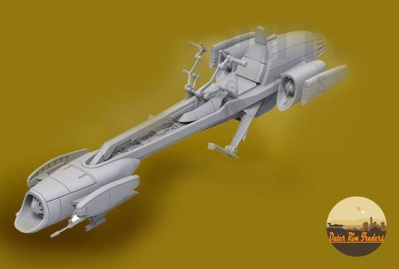 Image of Bark Speeder by Skylu3d Designs