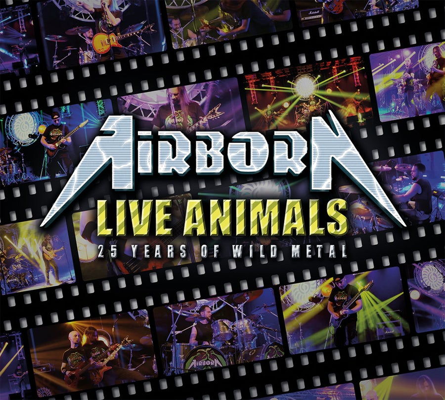 Image of Airborn - Live Animals CD+DVD