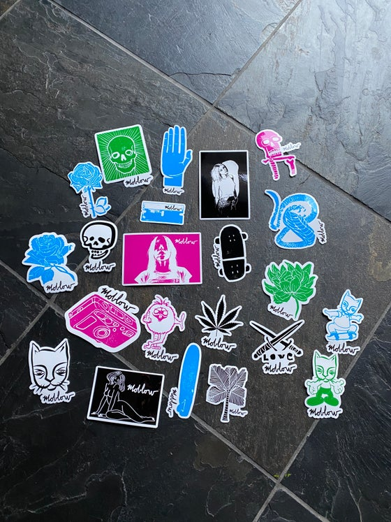 Image of moblow sticker pack