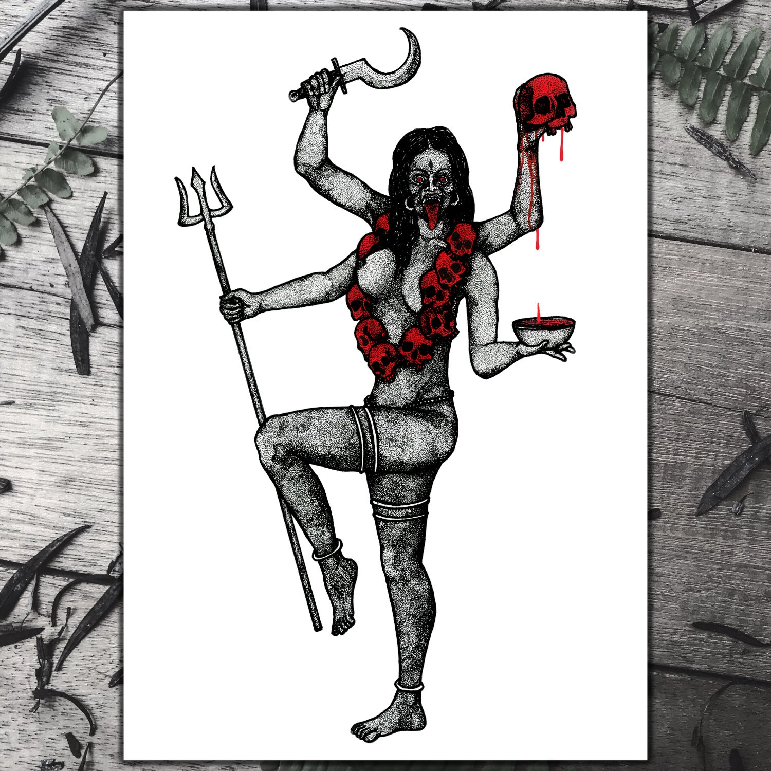Kali, Goddess of Death, Time and Doomsday