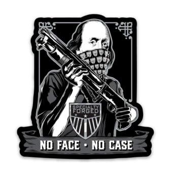 Image of No Face No Case Magnet