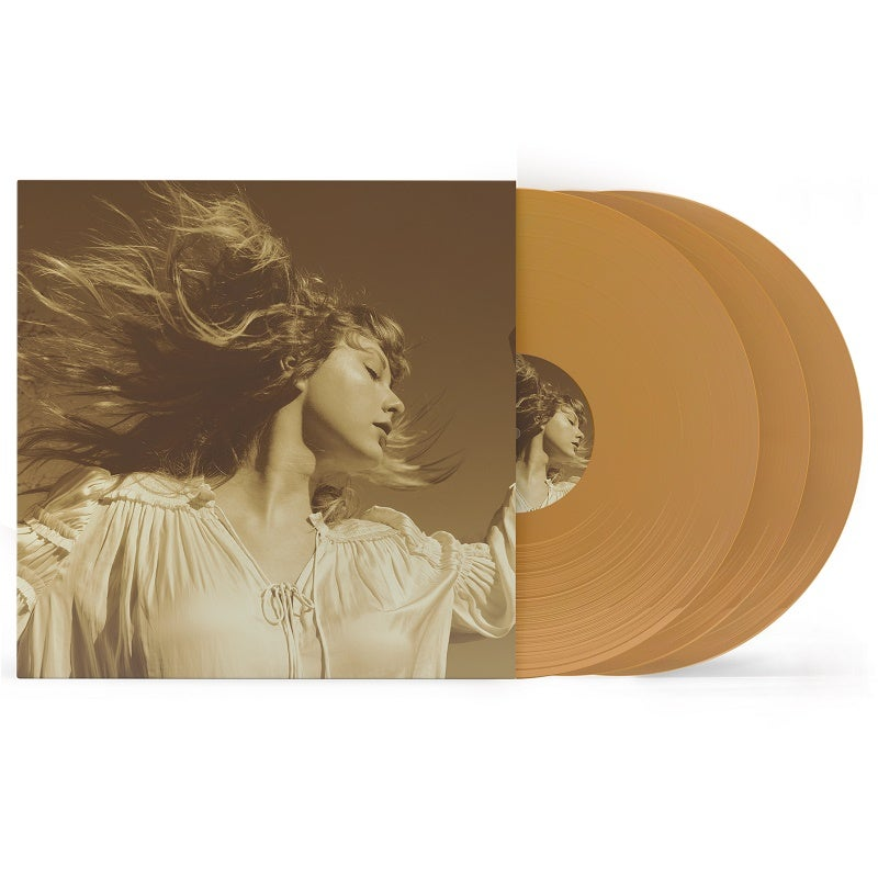 Image of Taylor Swift - Fearless (Taylor's Version) gold vinyl