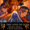For the Love of Gods ❦ Cover Mini-Print