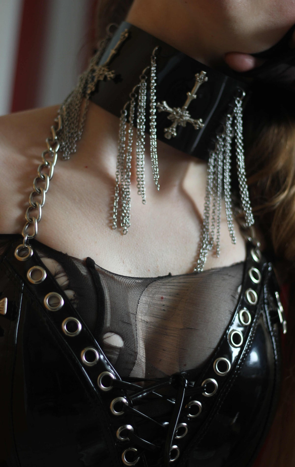 Image of MADE TO ORDER - LORELEI CHOKER (One Size)