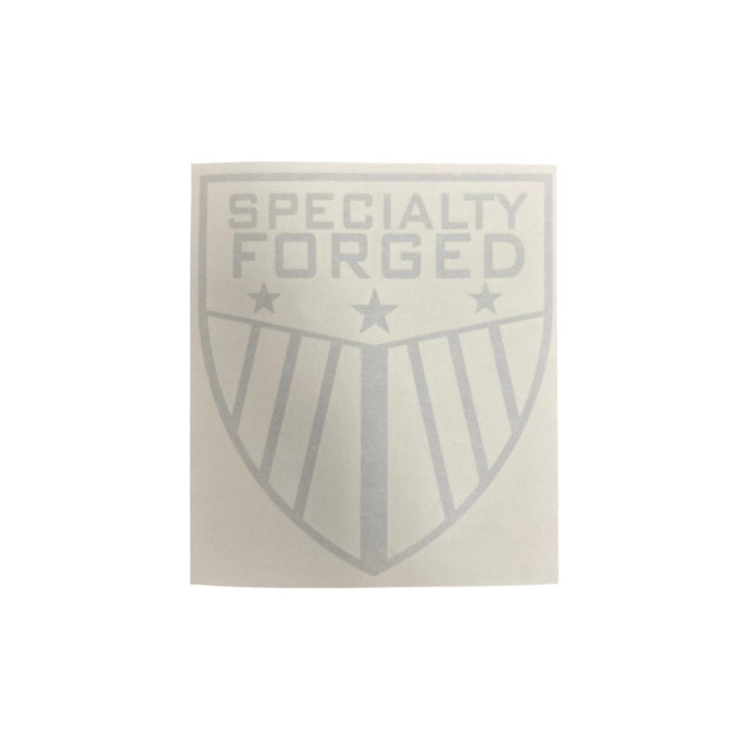 Image of SF Shield Die-Cut Decal: Chrome