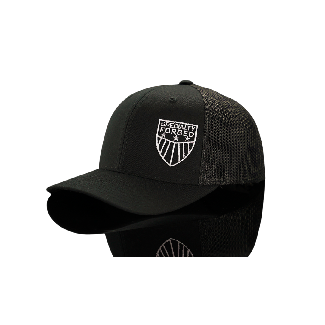 Image of SF Snapback Hat Black