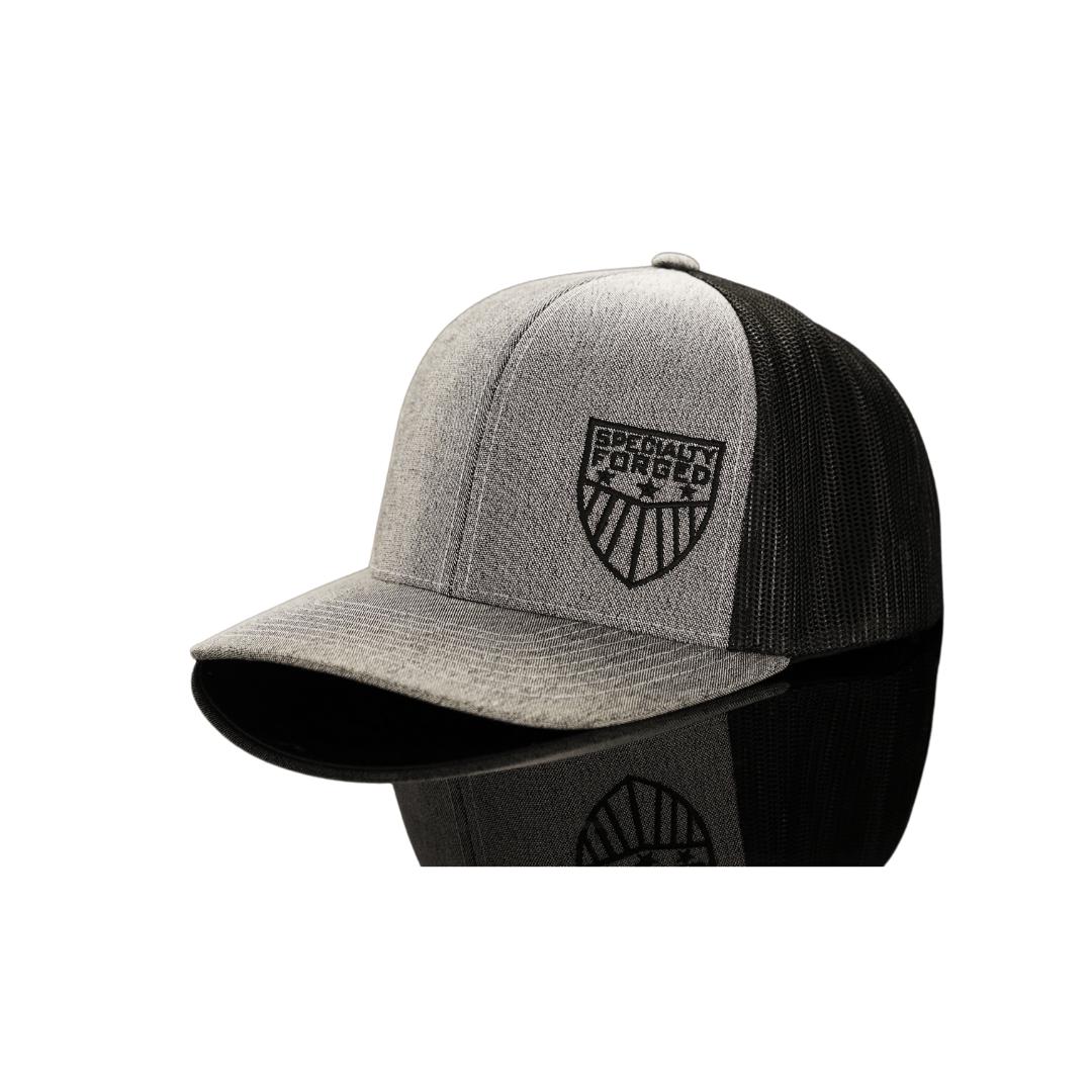 Image of SF Snapback Hat Grey/Black