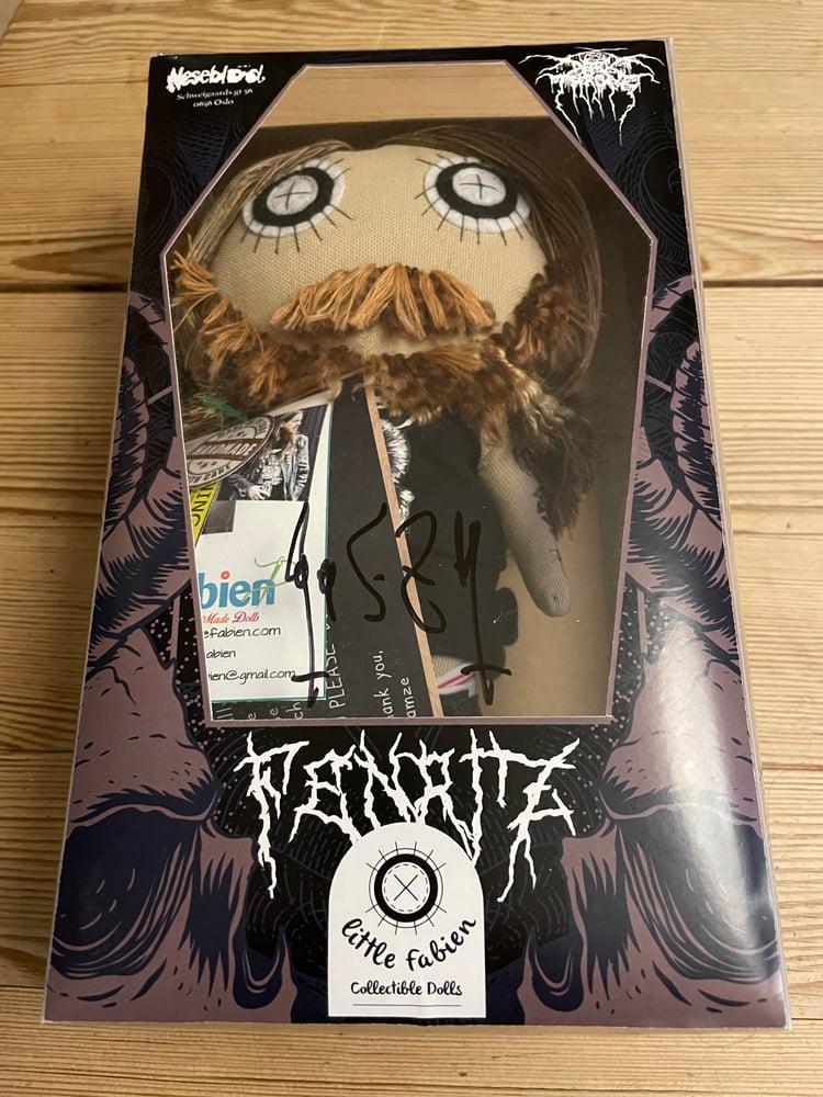 Image of Ready to ship Fenriz doll sign Fenriz.
