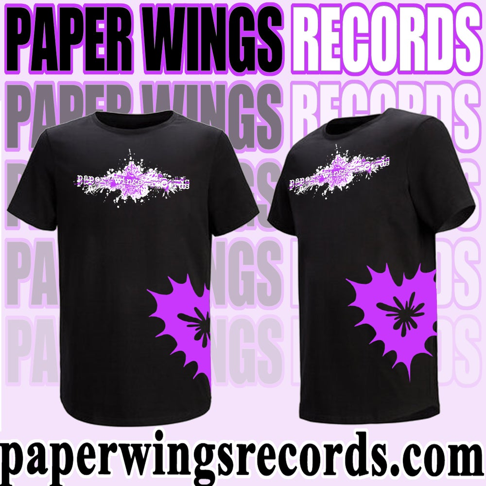 Image of Paper Wings Records 1st ever shirt!! (Pre-Order)