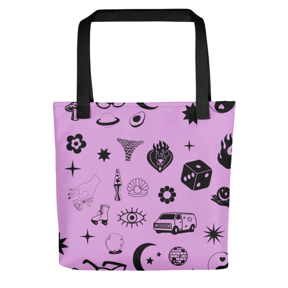 Image of Mystique / Moonlight Print Tote Bag