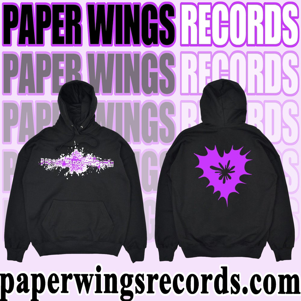 Image of Paper Wings Records first ever hoodie!!! (Pre-Order)