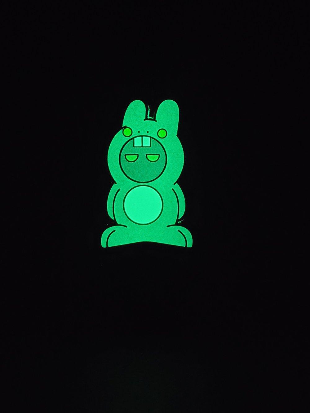 """Chonky Bunny"" (OG) 1.75"" Enamel Pin"
