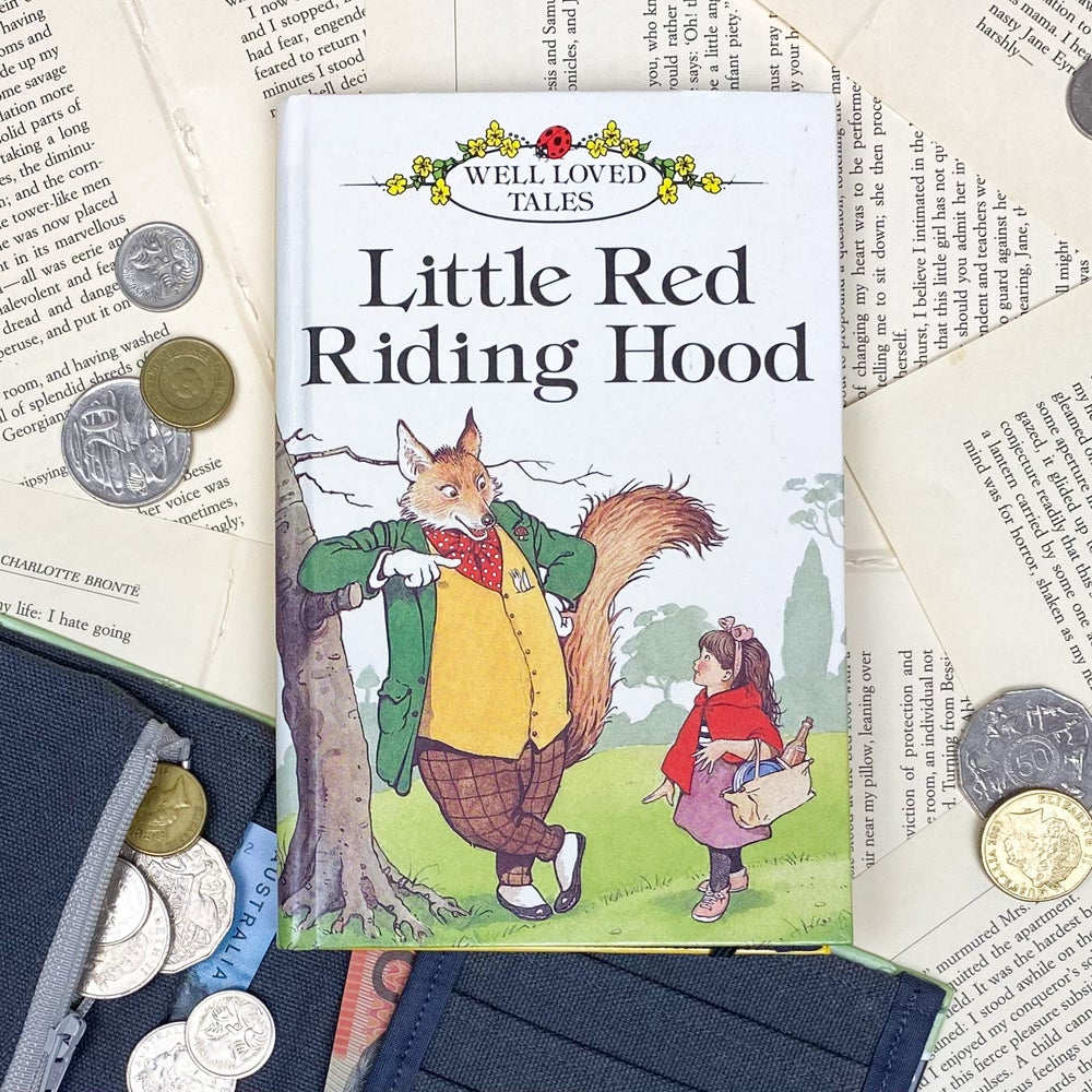 Image of Little Red Riding Hood Book Wallet