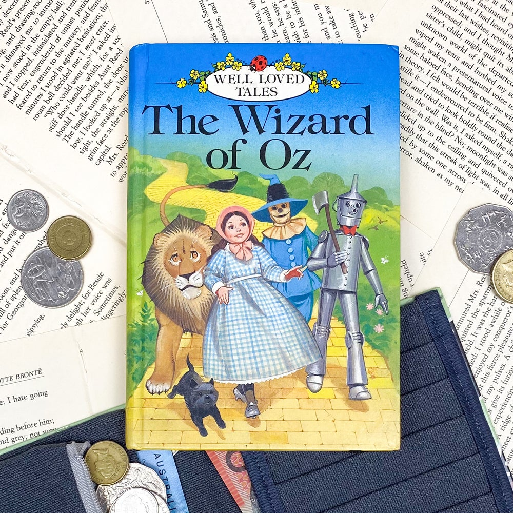 Image of Wizard of Oz Book Wallet