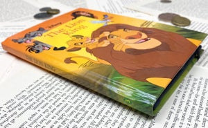 Image of Lion King Book Wallet