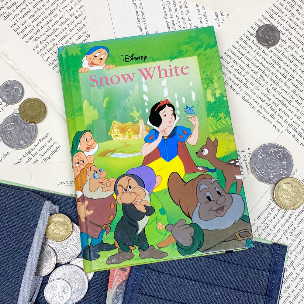 Image of Snow White Book Wallet