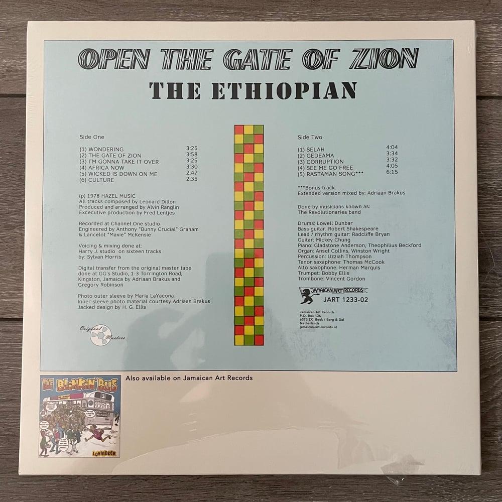 Image of The Ethiopian - Open The Gate Of Zion Vinyl LP