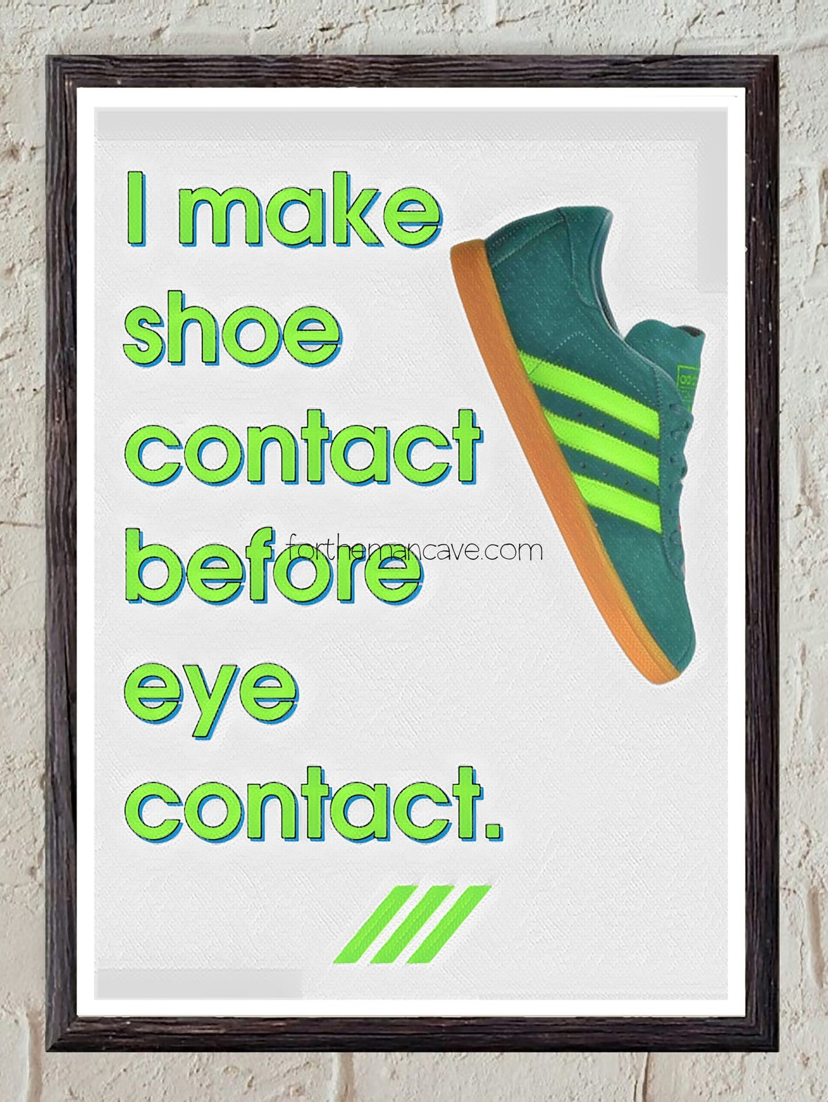 Image of SHOE CONTACT FIRST - TOBACCO - PRINT