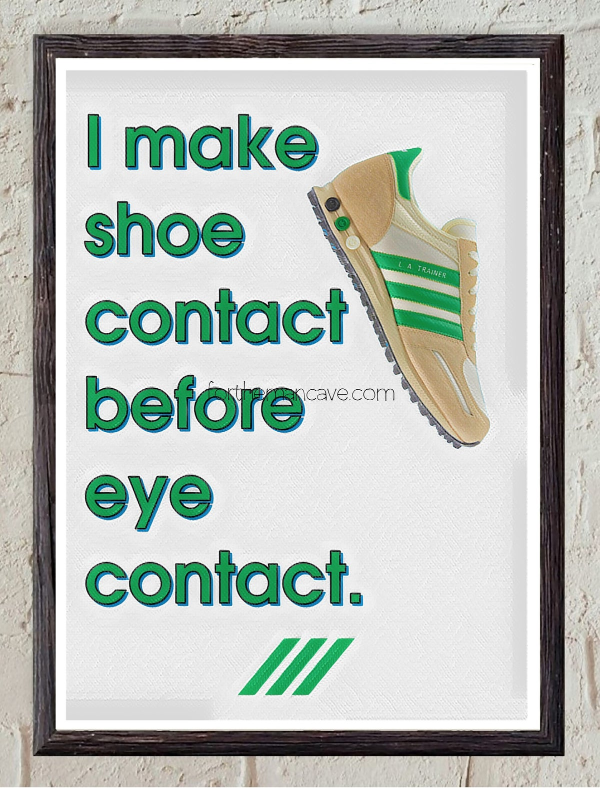 Image of SHOE CONTACT FIRST - LA TRAINER - PRINT