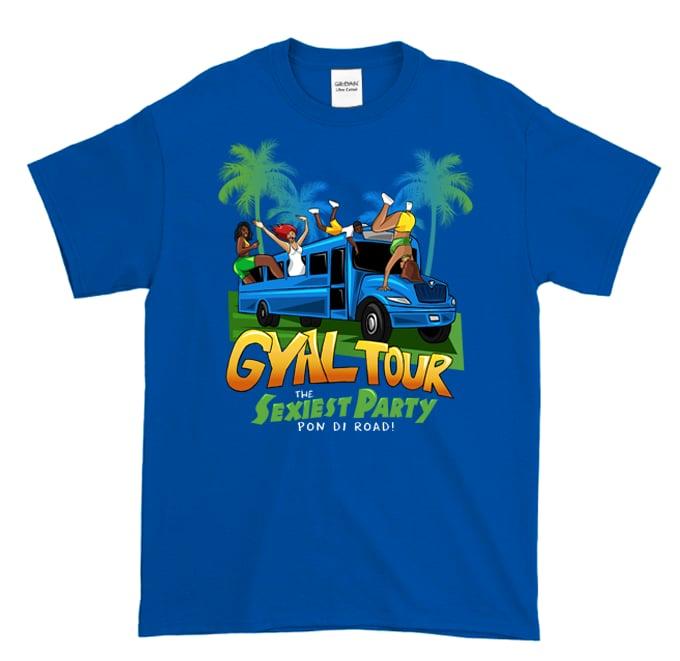 Image of Gyal Tour Forever (Royal Blue T-Shirt)