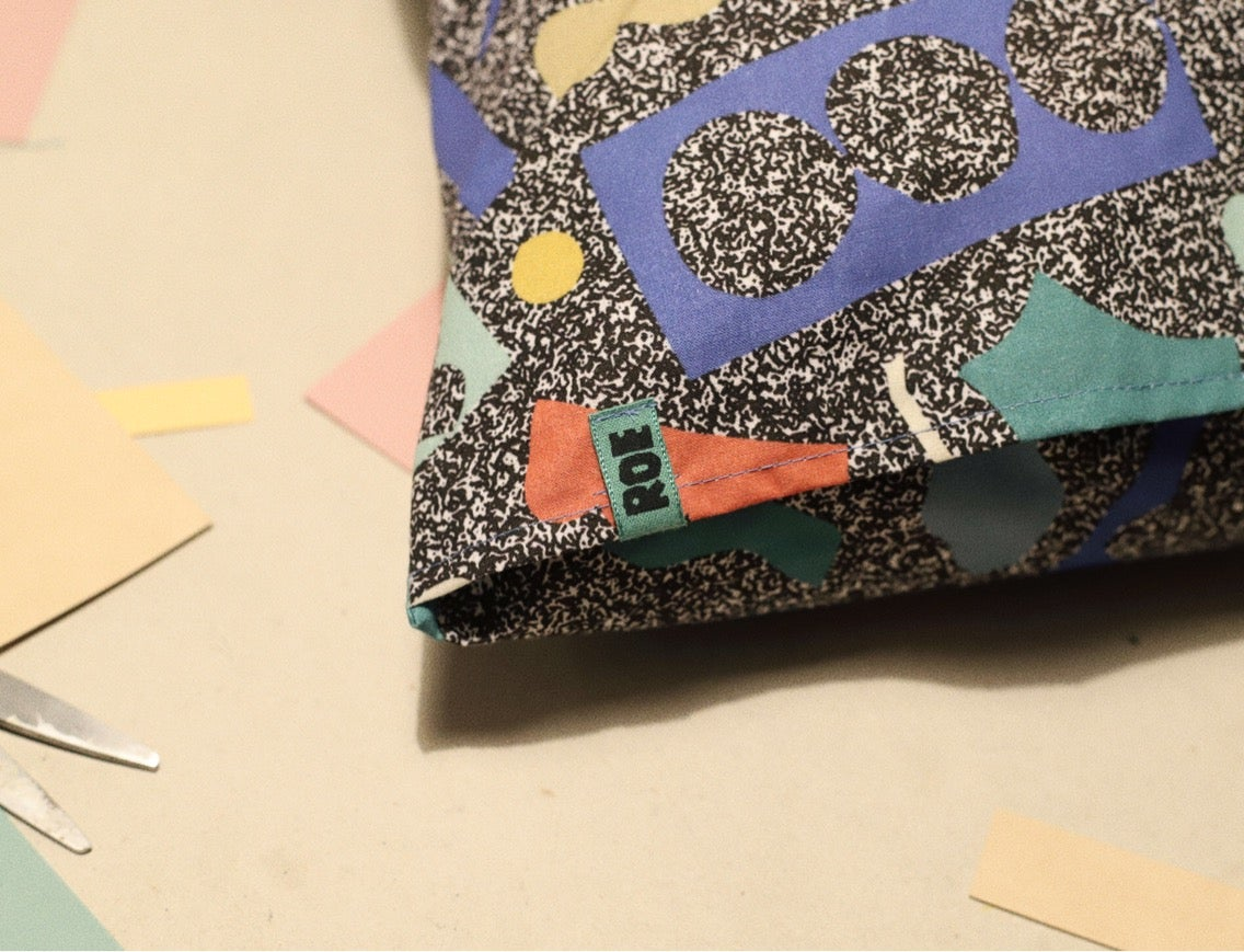 Image of NOISE CUTS PILLOWCASE