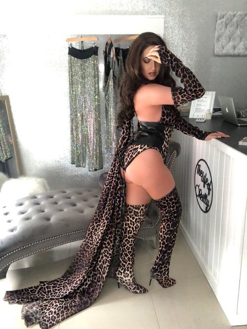 Image of Kylie Jenner WAP Costume