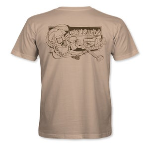 """Image of Confusion - """"Lines and Carves"""" t-shirt - [camel]"""