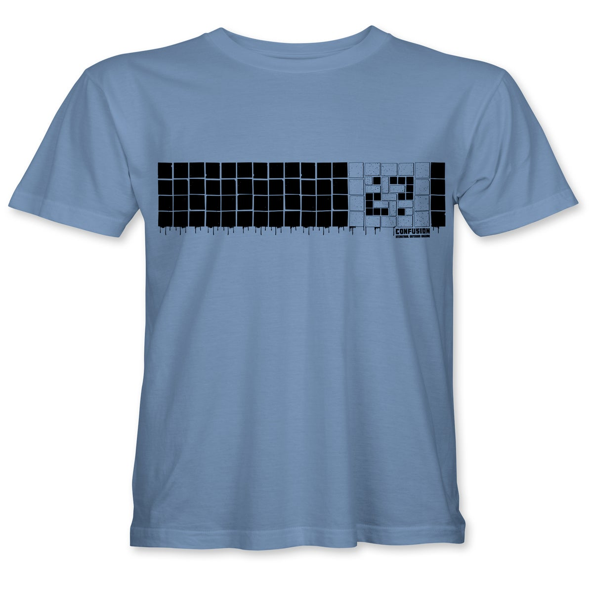 """Image of Confusion - """"Tiles"""" t-shirt  [light blue]"""
