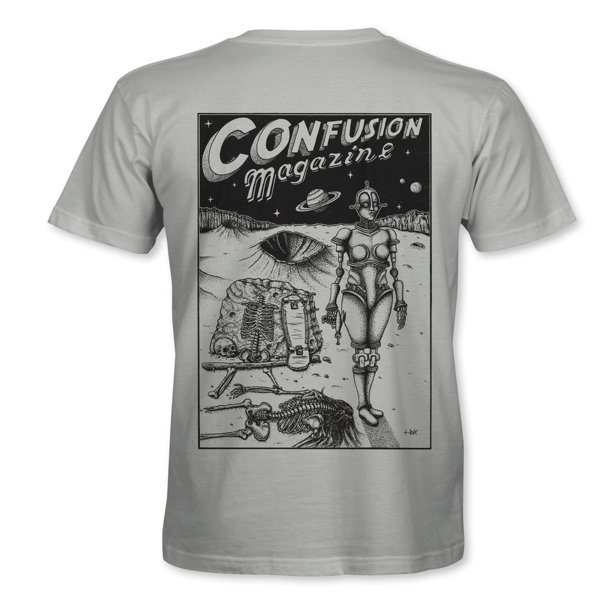 """Image of Confusion - """"Dystopia"""" t-shirt  [Ash Grey]"""
