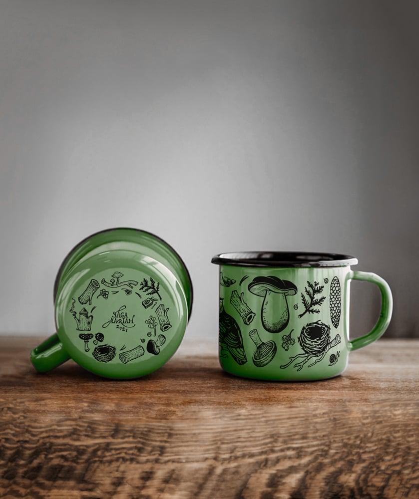 Image of Forest Enamel Mug