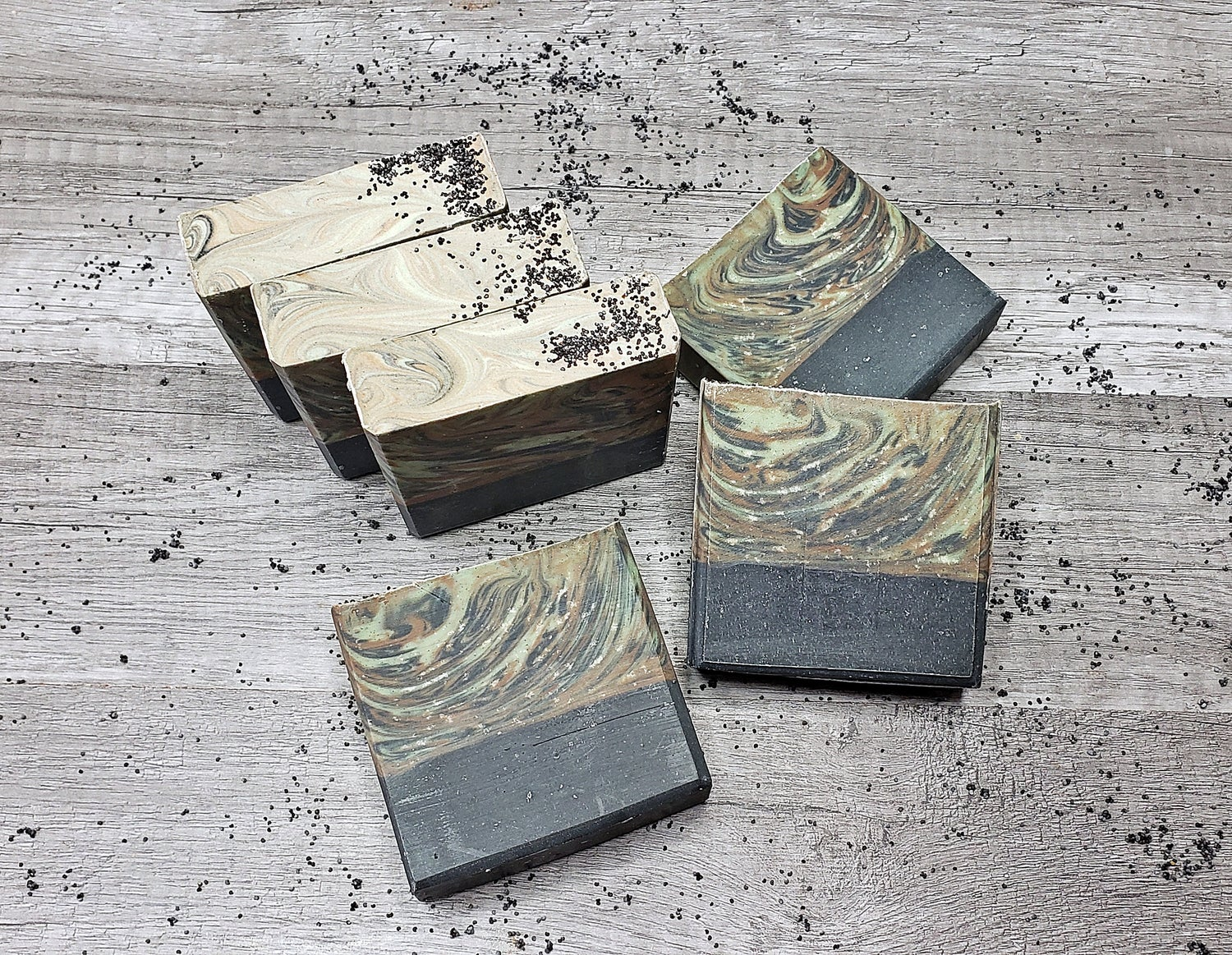 Image of GRANITE AND STONE HANDMADE COLD PROCESS SOAP