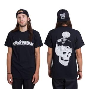 """Image of Confusion - """"Cranium"""" t-shirt  [black]"""