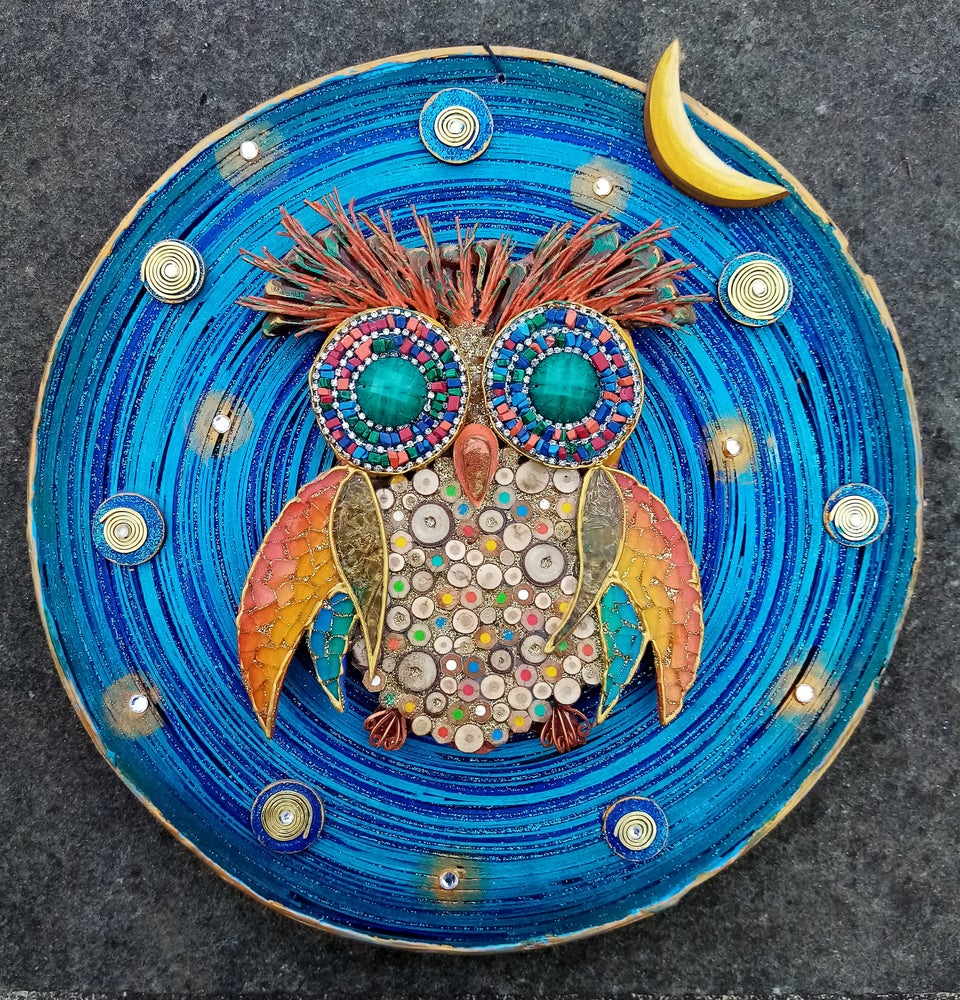 Image of Look at me, the Cosmic owl