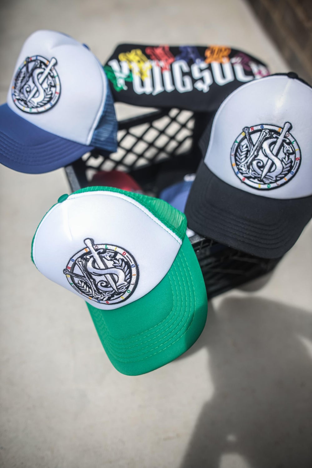 Image of YS Patched Trucker Hats