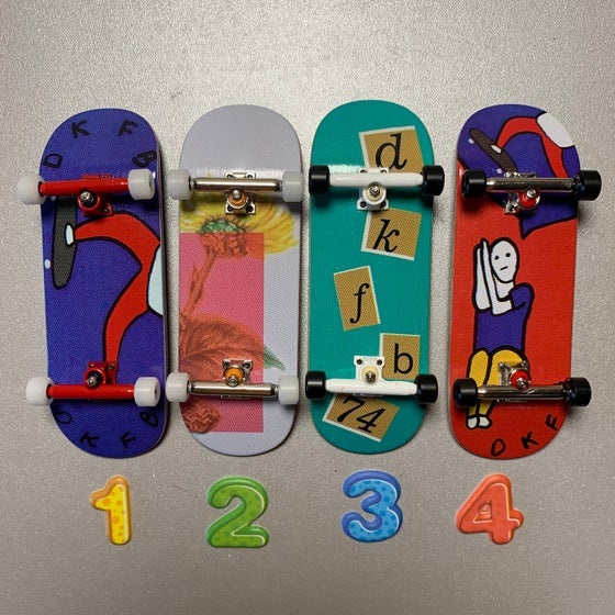"""Image of DK Decks - """"New Completes"""" #3 (Beta Bushings + DK Wheels)"""