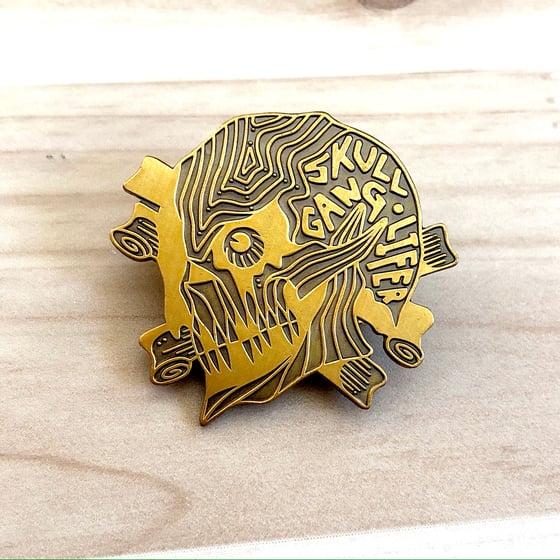 Image of Skull Gang Lifer Loyalty Badge + Print