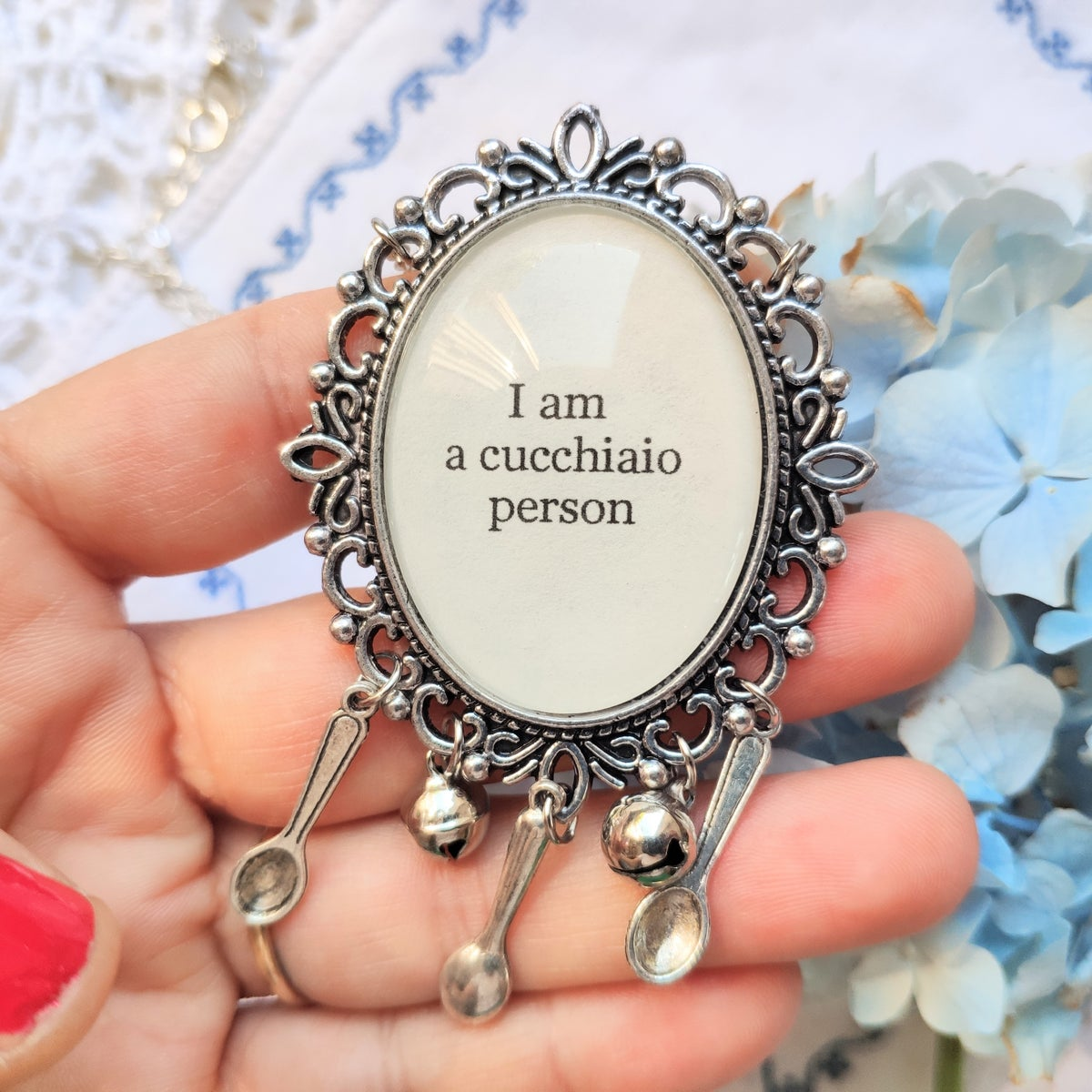 COLLANA - I AM A CUCCHIAIO PERSON