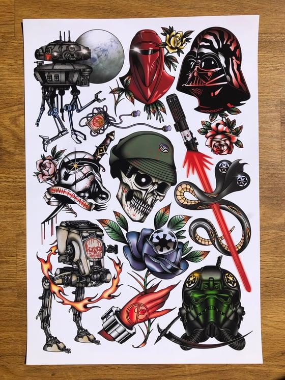 Image of Dark Forces Art Print