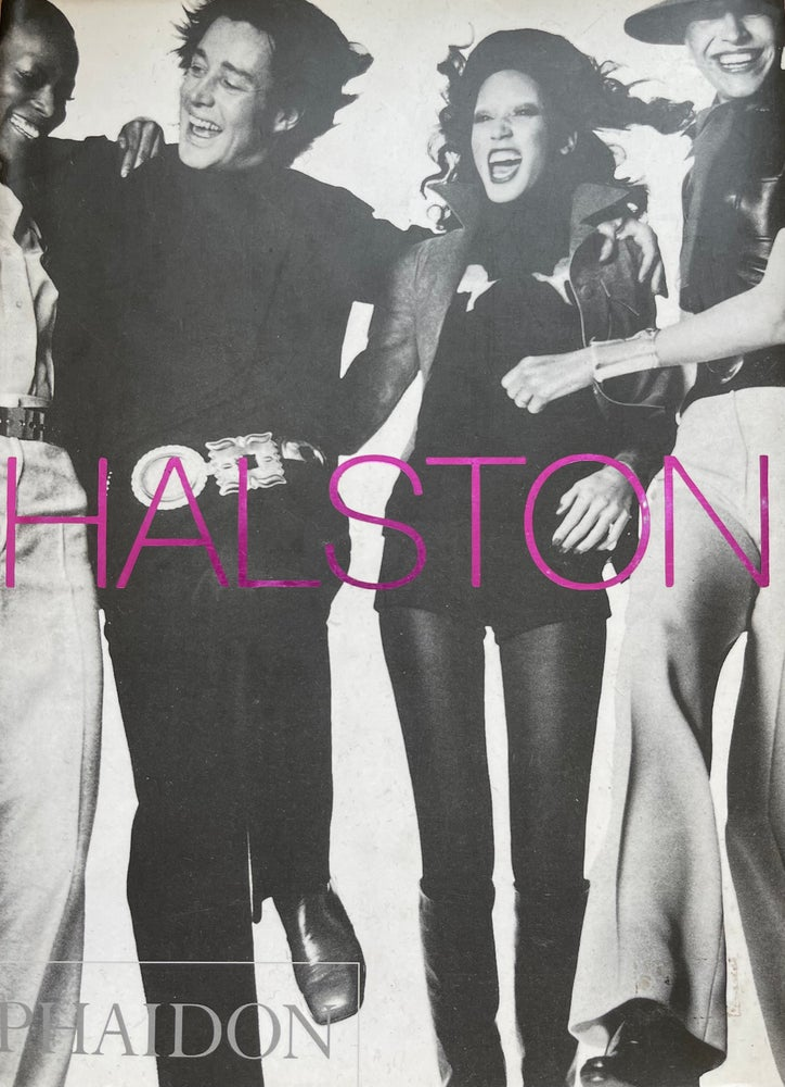 Image of (Halston) (Phaidon Hardcover 2001)