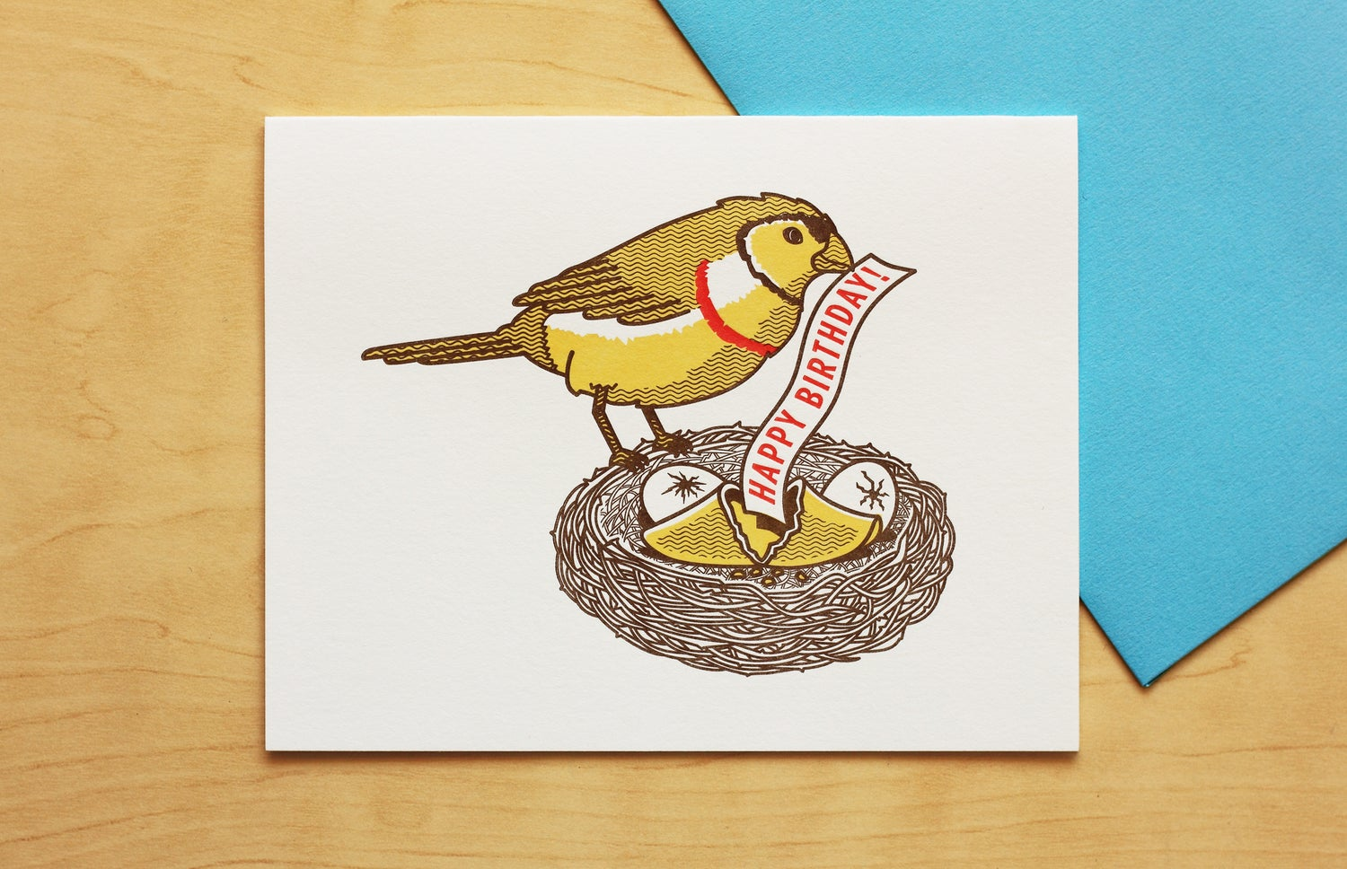 Image of GOOD FORTUNE HAPPY BIRTHDAY Card
