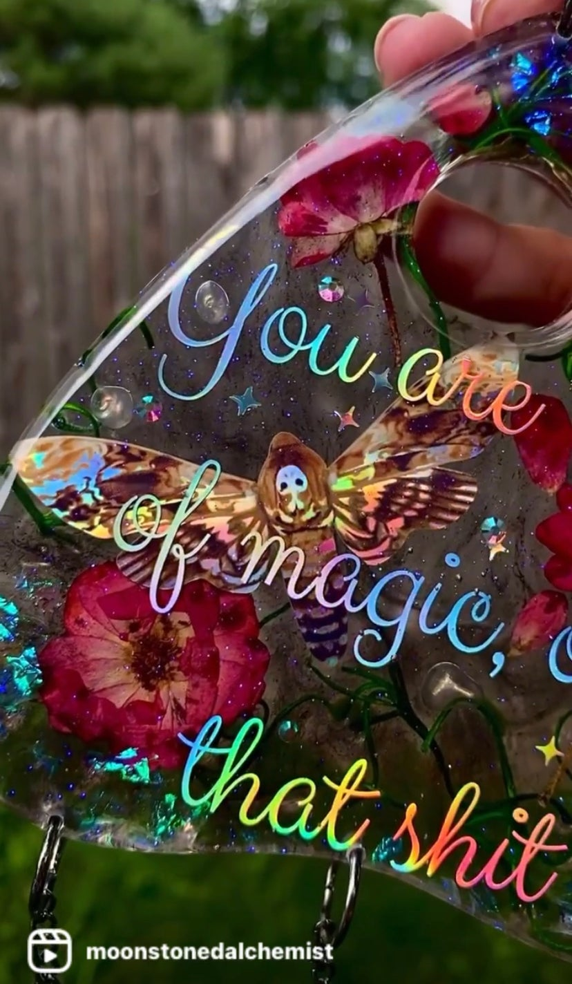 Image of You ARE Magic Extra Large Planchette Wall Art