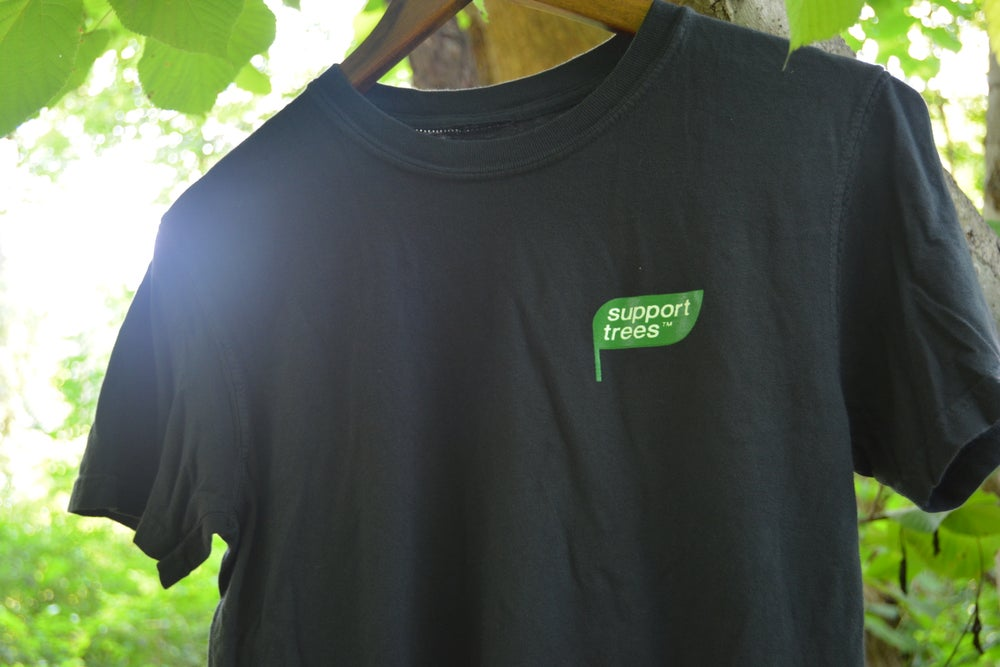 """Image of SUPPORT TREES """"LEAF"""" SHIRT"""
