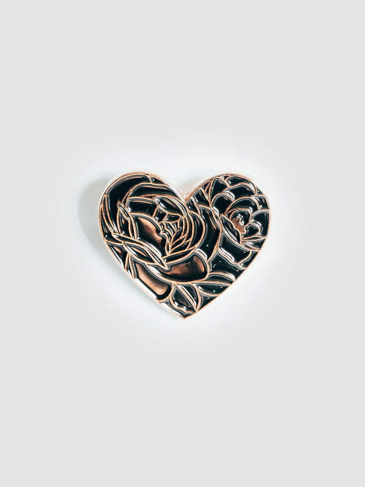 """Image of PIN'S """"FLORAL HEART"""""""