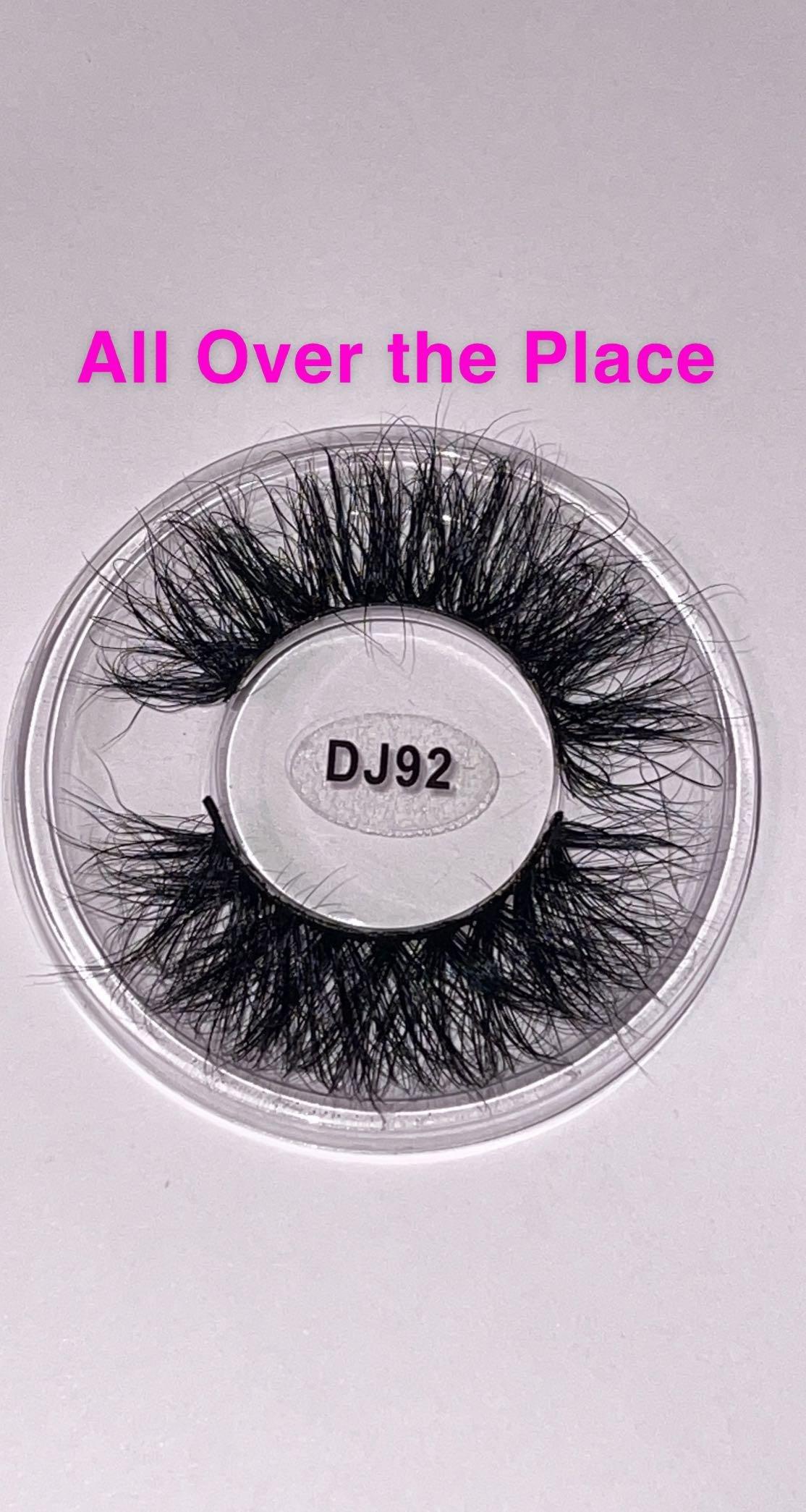 3D Real Mink Eyelashes - 15 - 18mm