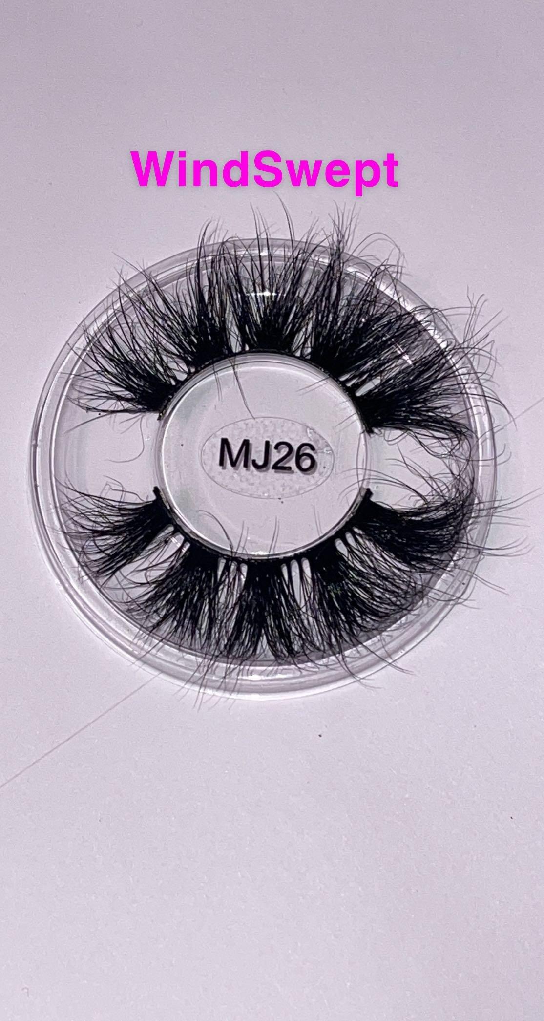3D Real Mink Eyelashes - 25 - 28mm