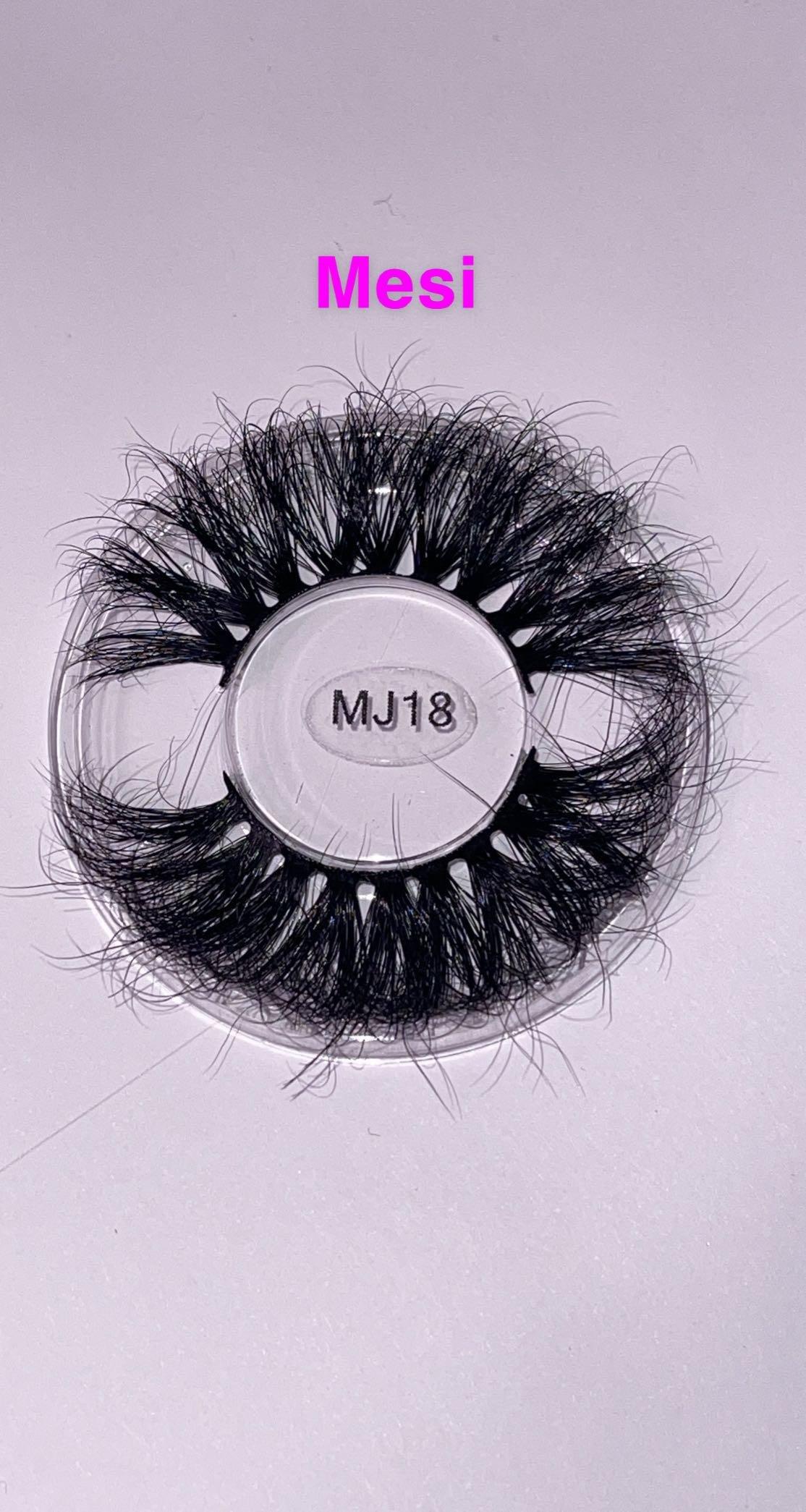 3D Real Mink Eyelashes  — 25-28mm