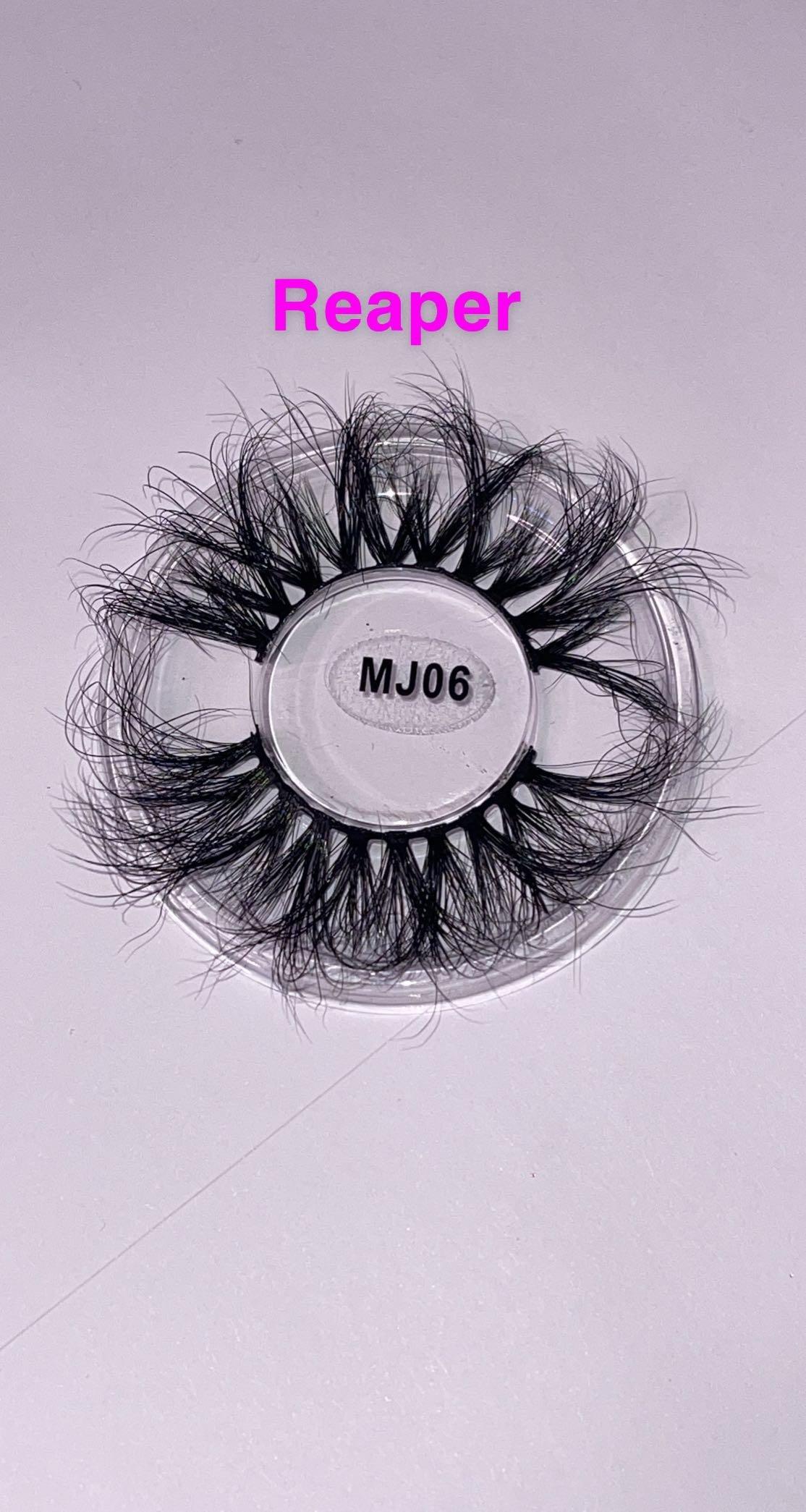 3D Real Mink Eyelashes — 25 - 28mm