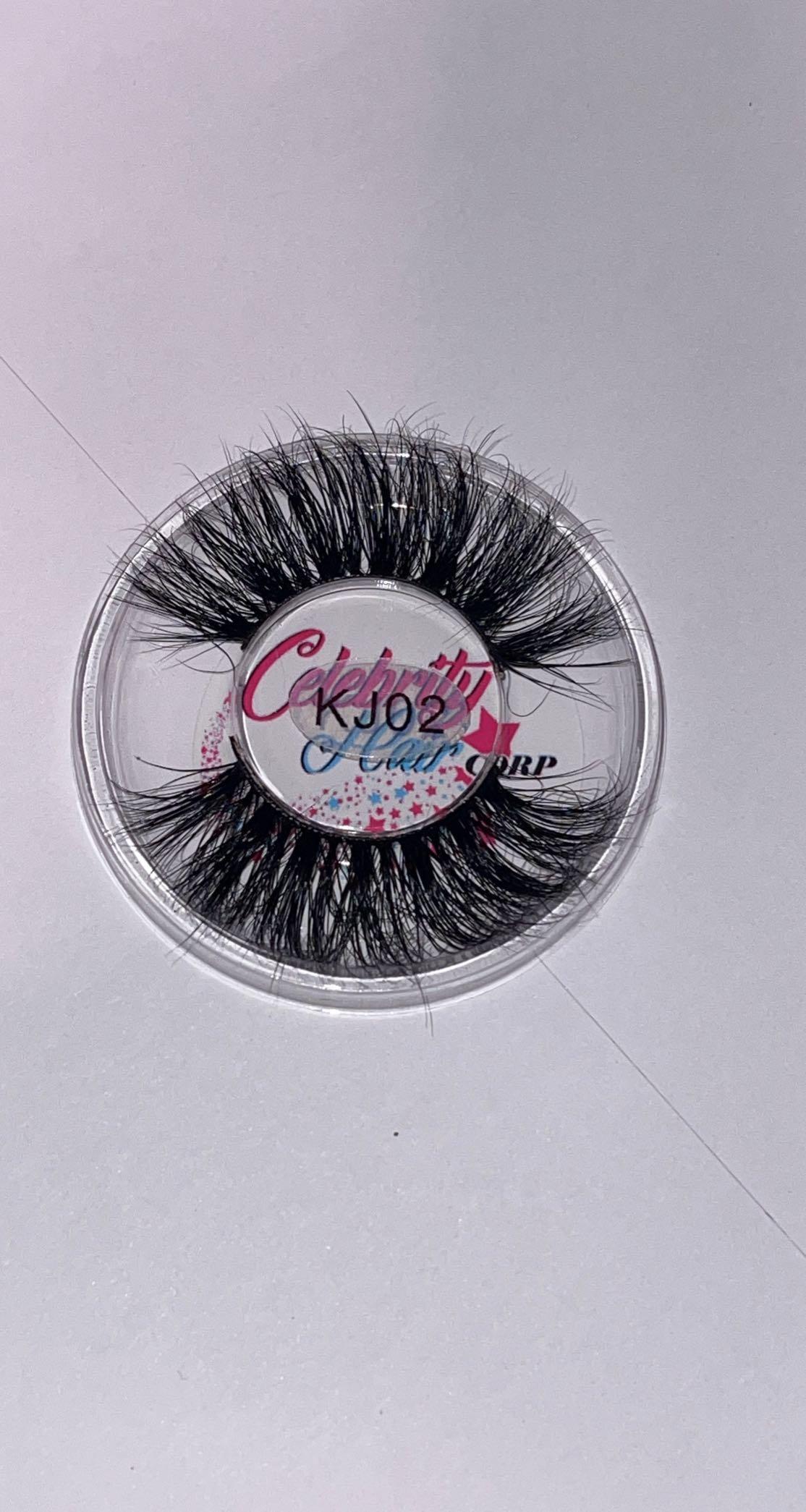 3D Real Mink Eyelashes - 22-25mm
